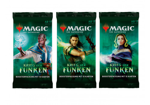 Magic The Gathering - Krieg der Funken - Booster einzeln - deutsch