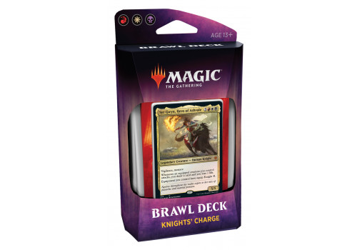 Magic The Gathering - Throne Of Eldraine - Brawl Deck Knight's Charge - EN
