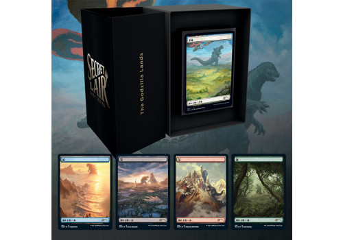 Magic The Gathering - Secret Lair drop series: The Godzilla Lands